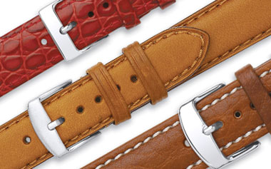 wholesale replacement watch straps leather
